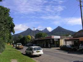 Wollumbin (Mount Warning) and the Sisters
