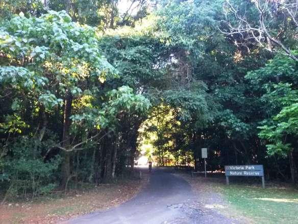 Victoria Park Nature Reserve entrance